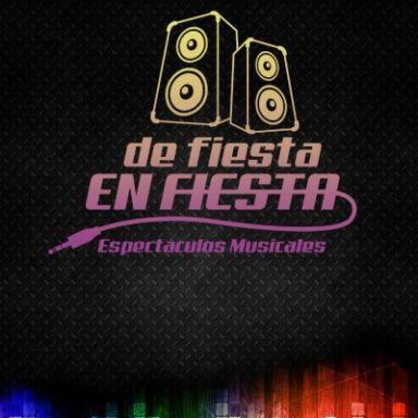 """Espectaculos Musicales """"De Fiesta en Fiesta"""""""