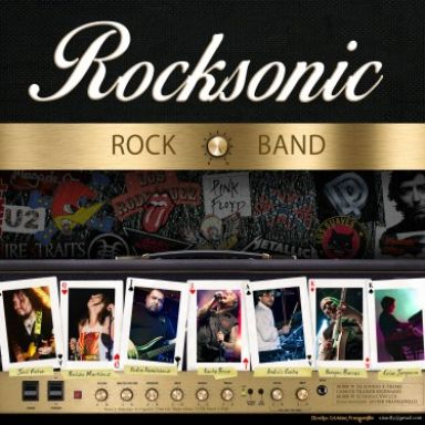 rocksonic rock band