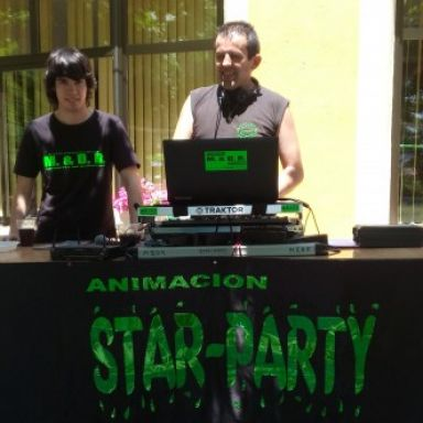 animacion star party