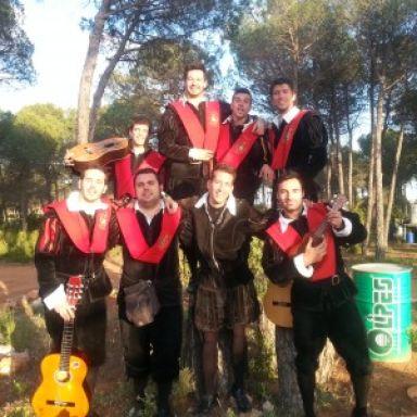 Tuna de la Facultad de Derecho de Alicante