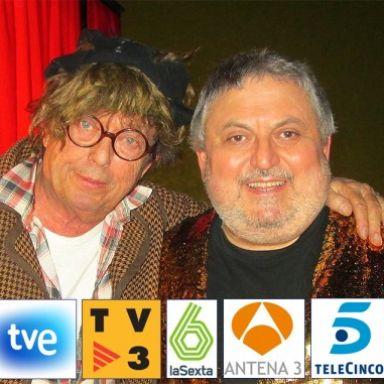 El humor de TV con BARRAGAN y la magia de XEMA