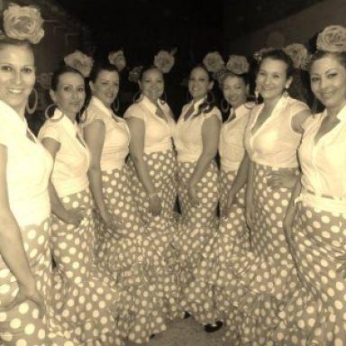 Cuadro de Baile Montse y Menchu