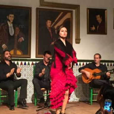 Cuadro de baile flamenco Pilar Patricio