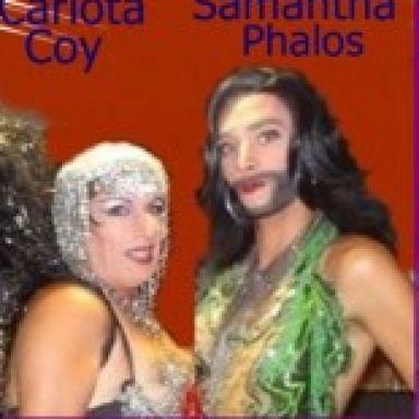 Carlota Coy y Samantha Phalos