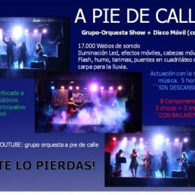 Grupo Orquesta A PIE DE CALLE