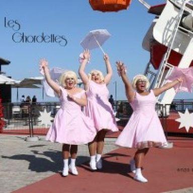 Comedy-Burlesque-Clown. Compañia TEeatro. Les Ghordettes.