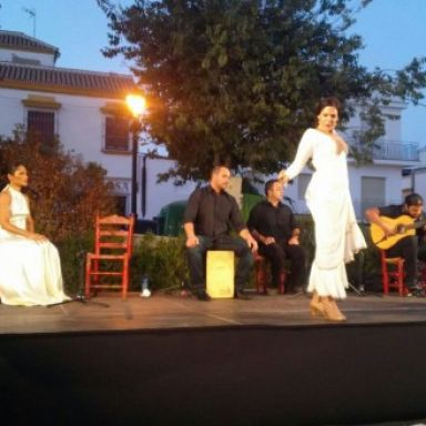"Cuadro flamenco ""La hora bruja"""