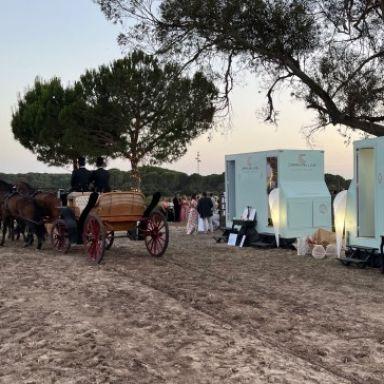 caravan line luxury toilet