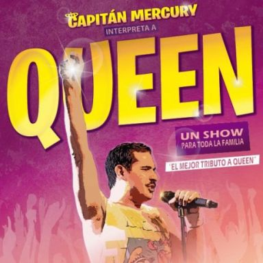 capitan mercury queen tributo