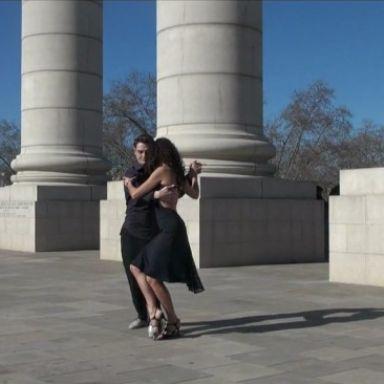 sylvain y ana tango