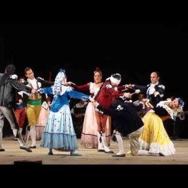 coros y danzas francisco de goya